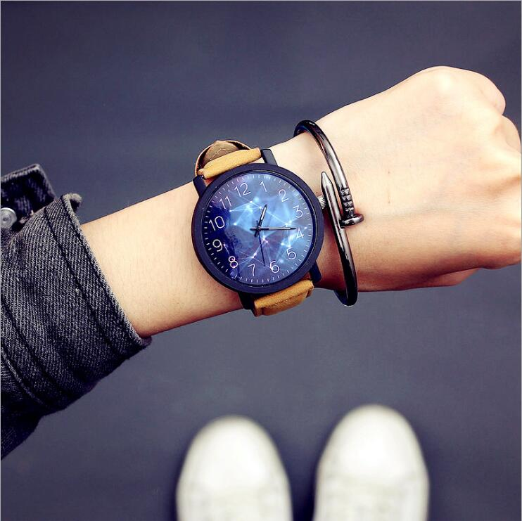 Retro Design <font><b>Leather</b></font> Band Watches Men <font><b>Fashion</b></font> <font><b>Unisex</b></font> <font><b>Montre</b></font> <font><b>Femme</b></font> <font><b>Reloj</b></font> <font><b>Mujer</b></font> Men's Watch Wholesale Quartz Watches Best Gift image