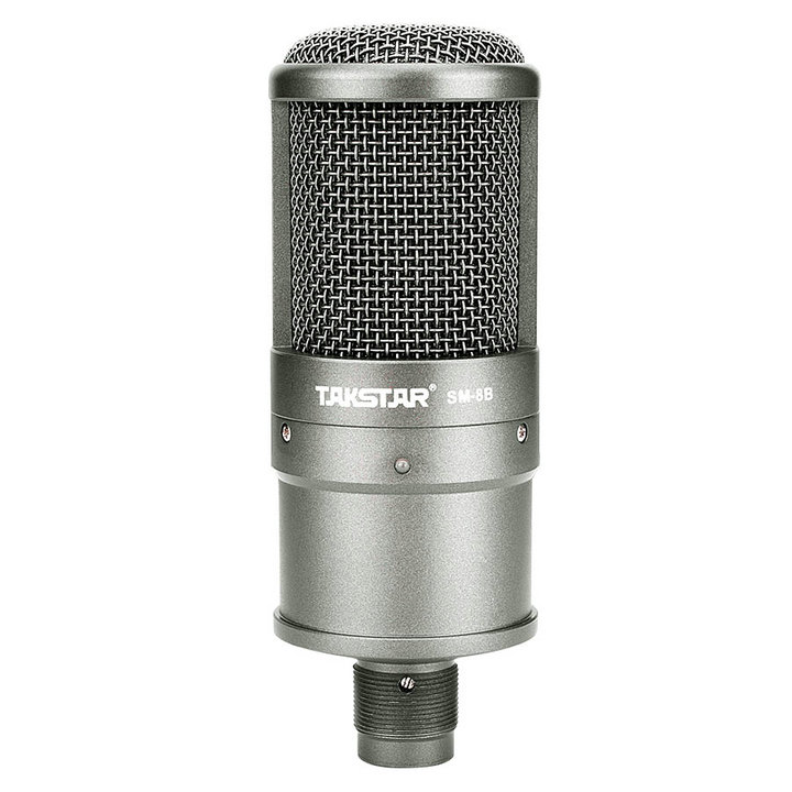 Top Quality Takstar SM 8B Condenser microphone computer microphone recording the song with a sound card