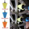 Polieren Schaum Schwamm Polieren Pad Auto Polierer Reifen Rad Rad Hub Werkzeug Polieren Maschine Kegel form Rad Naben Disk-in Polierscheibe aus Kraftfahrzeuge und Motorräder bei