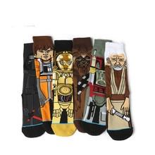 Sale Hot Star Wars Autumn And Winter New Cartoon Funny Men Socks Stockings Planet Battle Vader