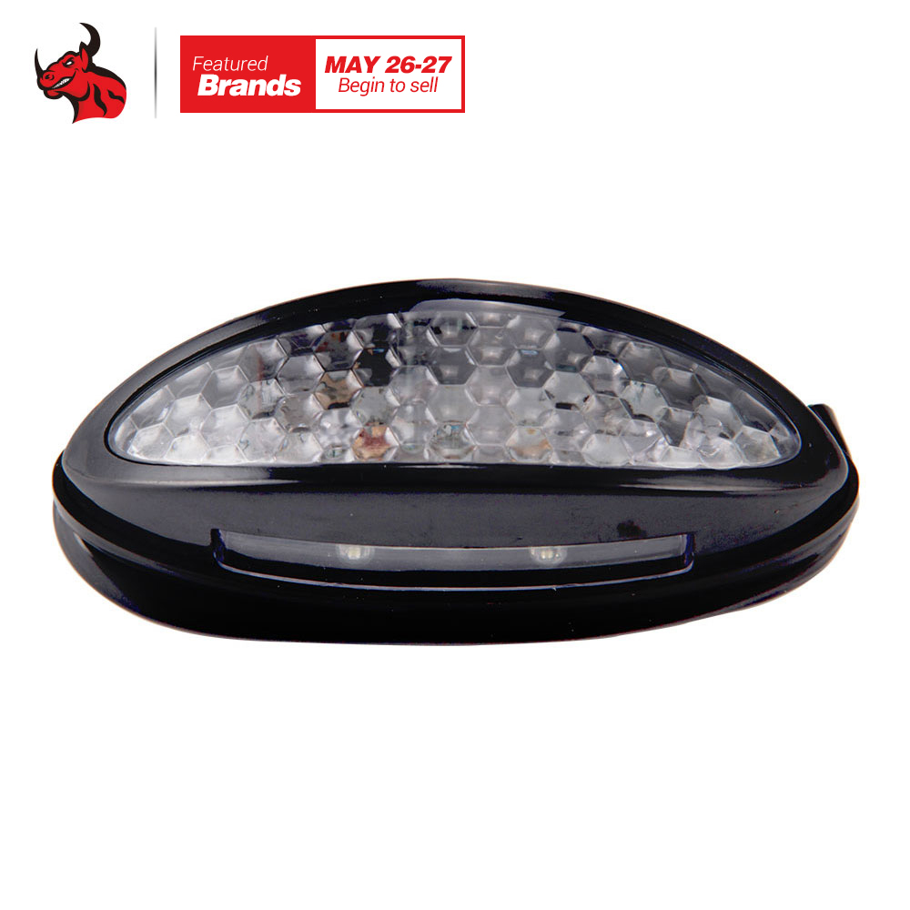 Motorcycle Taillights LED Taillight Brake font b Lamps b font Warning Motorcycle Tail Light Anti collision