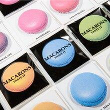 1 шт. Милые Каваи Моделирование Macarons конфеты цвет блокнот Post it Sticky Notes Закладки Наклейки офис школьные Принадлежности BLT20