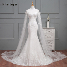 HIRE LNYER 2019 Slim Elegant Mermaid Wedding Dress
