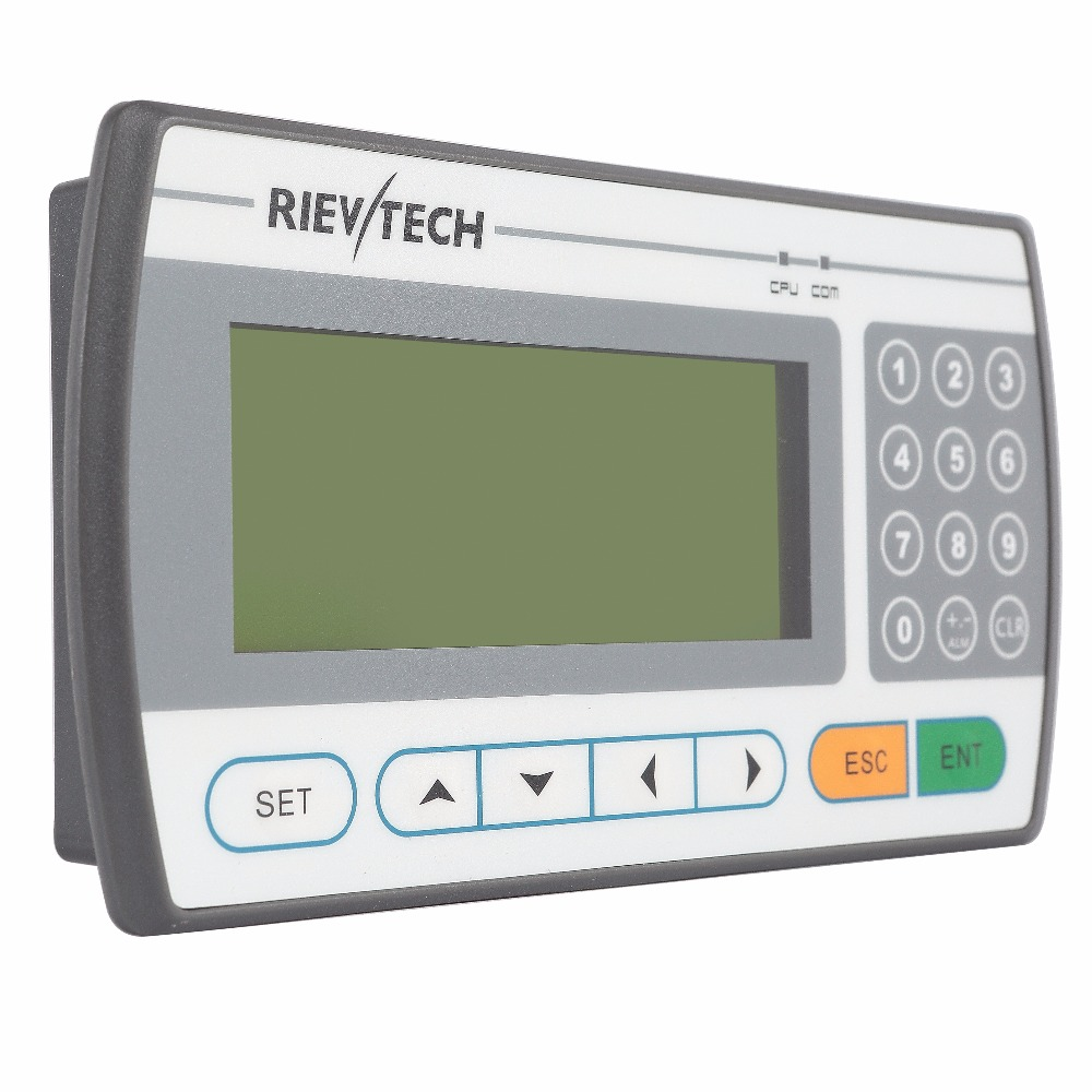 xLogic text panel for micro plc CE Rohs approved RTP1043
