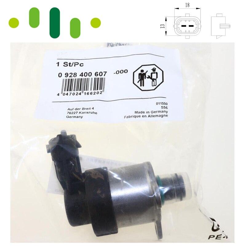 0928400607 High Pressure Pump Regulator Metering Control Solenoid SCV Valve Unit For SUZUKI VOLVO C30 S40 S80 V50 V70 1.6 D 0 928 400 502 high pressure pump regulator metering control solenoid scv valve for opel vauxhall movano vivaro 1 9 2 2 2 5 dti