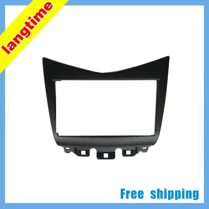 Best Free shipping-Car refitting DVD frame,DVD panel,Dash Kit,Fascia,Radio Frame,Audio frame for 07 Honda Accord 2.4 , 2DIN 0
