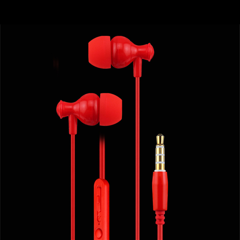 Comilkey MK-1 Stereo Bass Earphone In-ear Headset with MIC 3.5mm Hands-free for Apple Samsung Sony HTC Mp3 Tablet Birthday Gift