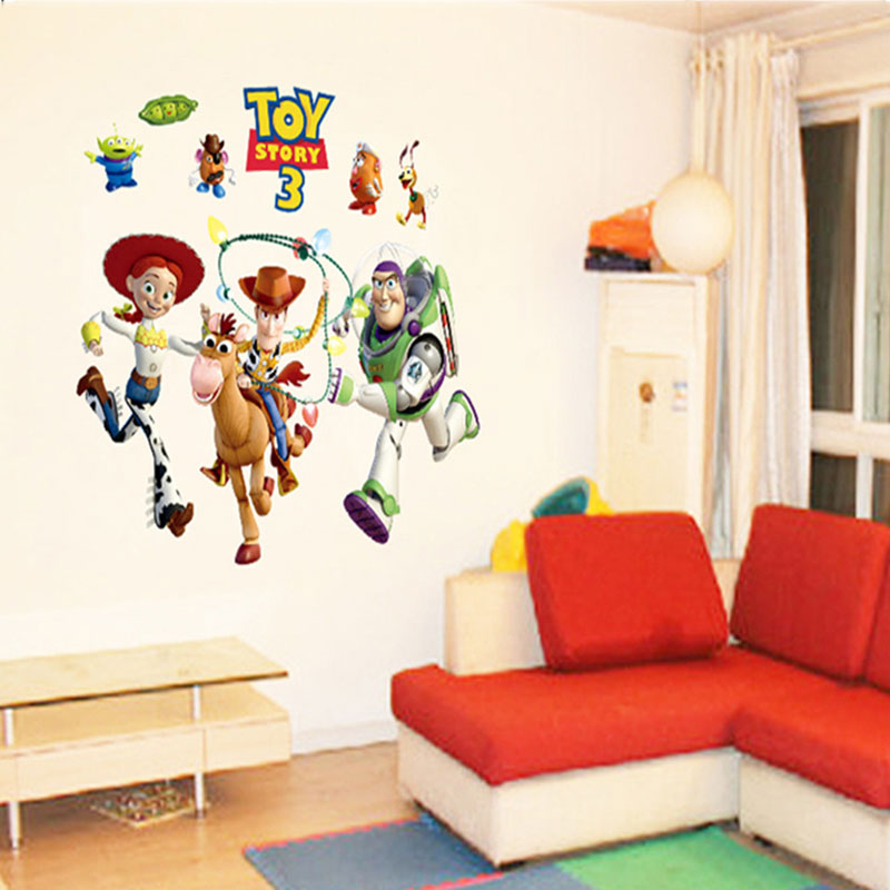 3d Toy Story Wall Stickers Part 35