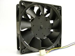 TFC1212DE Delta 120mm DC 12V 5200RPM 252CFM Para Bitcoin Miner Caja - Componentes informáticos - foto 2