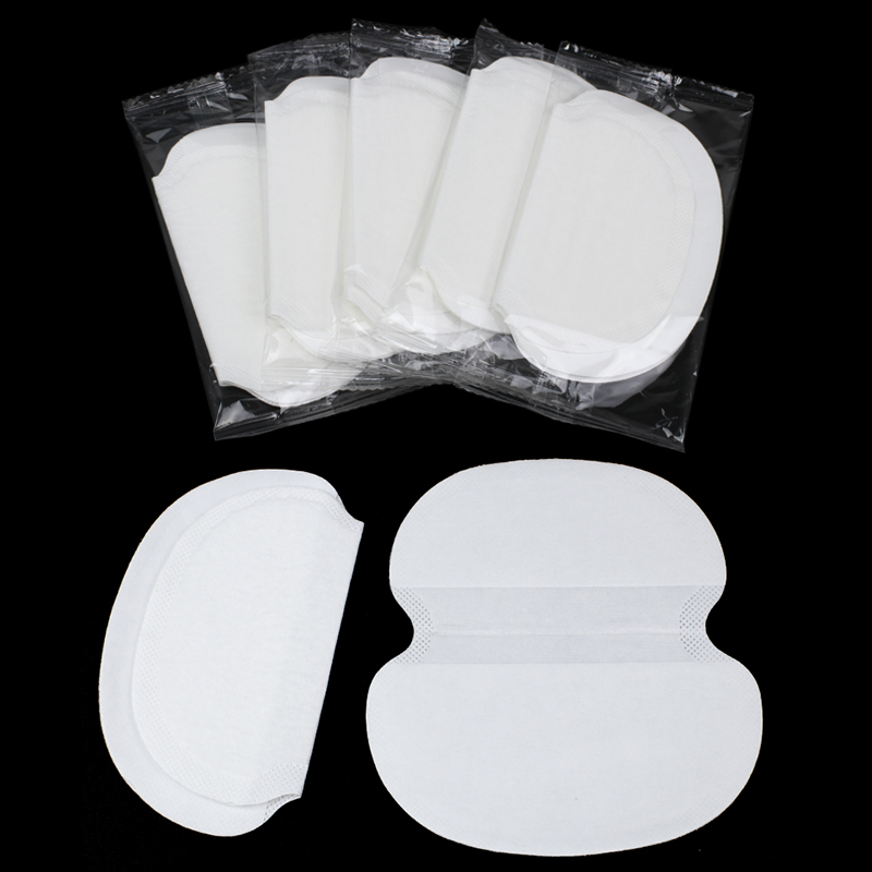 10/30/50pcs Summer Sweat Perspiration Pads Cotton Underarm Pads Shield Underarm Armpits Sweat Pads Deodorant For Women Absorbent