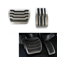 Car Pedals Accessories Non Slip OE Style Foot Rest Fuel Gas Brake Pedals Pad Cover Fit