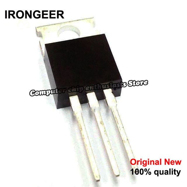 10pcs  IRF740 IRF740PBF MOSFET N Chan 400V 10 Amp TO 220 new original
