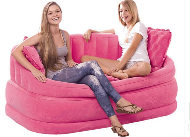 Inflatable sofa for two people Leisure sofa Home leisure sofa bed dg home диван camber sofa