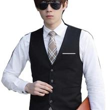 Groomsmen на заказ, приталенный лучший мужской жилет Свадебная жилетка деловой, для жениха Вечерние жилеты
