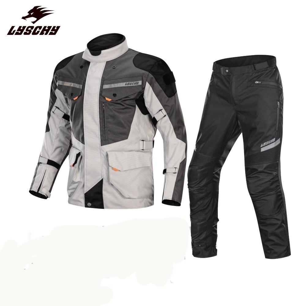 2019 Marque Nouveau Étanche 3 dans 1 Amovible Oxford Tissu Moto Veste Motocross Racing Équitation Veste Jaqueta Motoqueiro