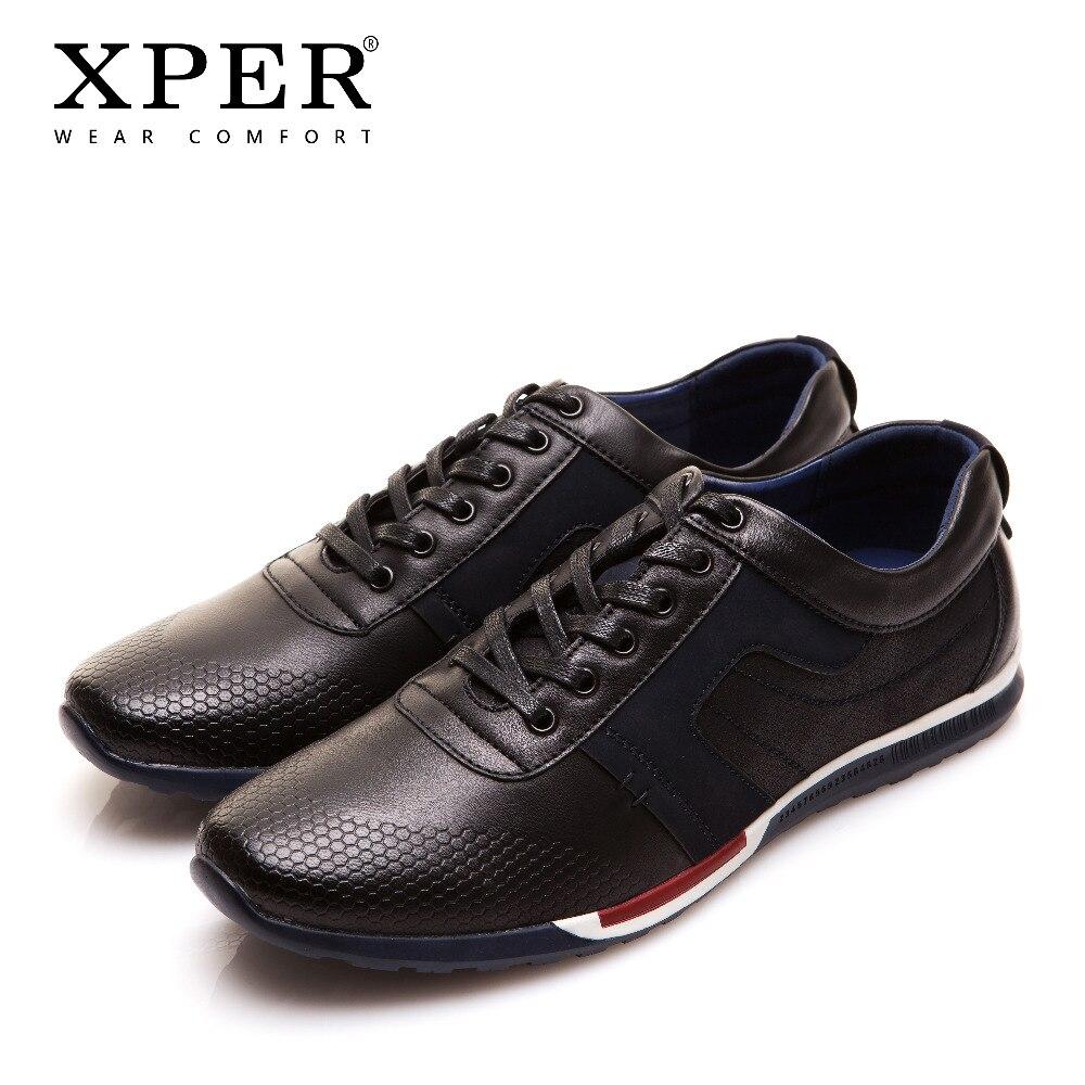 XPER Printemps Nouveau Hommes Chaussures Mode Hommes Casual Chaussures Sportif Marche Chaussures Dentelle-Up Confort Chaussures Marque Sneakers # YMD86683BU