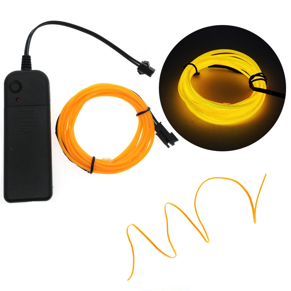 Neon Licht Dance Party Decor auto Lichter Neon led lampe Flexible EL ...