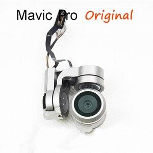 Image 2 - Original Gimbal Arm Motor Mit Flache Flex Kabel Kit Reparatur Gimbal 4k Kamera Für DJI Mavic Pro Ersatz Drone zubehör