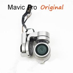 Image 2 - Original Gimbal Arm Motor With Flat Flex Cable Kit Repair Gimbal 4k Camera For DJI Mavic Pro Replacement Drone Accessories