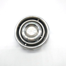 Girando Tecnologia Equilíbrio Preto Mão Fidget EDC Aço Inoxidável Spinner Spinner Autismo TDAH Descompressão Brinquedo Giroscópio de Metal