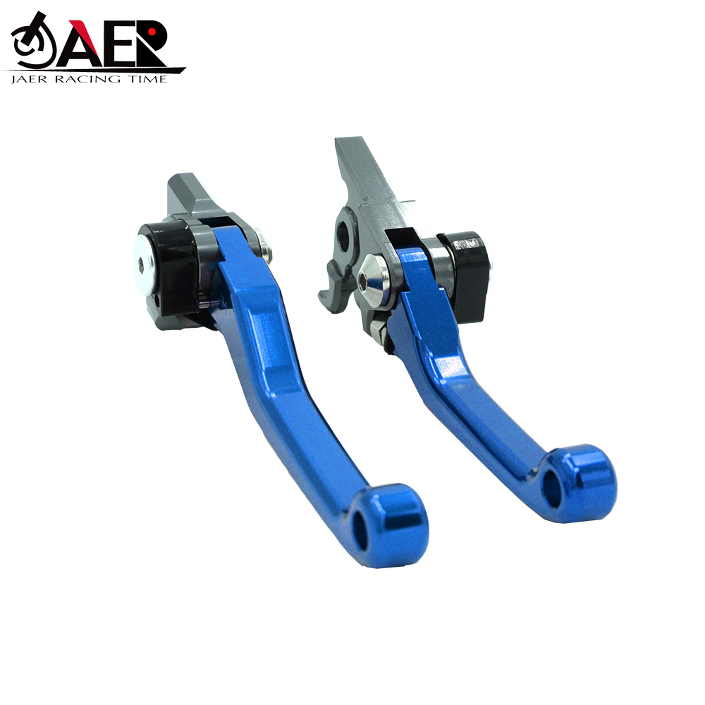 JAER CNC Motorbike Brakes Levers For Yamaha YZ125 YZ125X YZ250 YZ250X 2016 2019 Motorcycle Pivot Brake Clutch Lever in Levers Ropes Cables from Automobiles Motorcycles