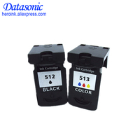 2Pack PG 512 pg512 CL 513 ink cartridge for Canon PG 512 CL 513 used for Canon MP240 MP250 MP270 MP230 MP480 MX350 IP2700