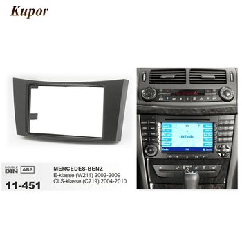 11-451 auto Fascia Platte Panel Installation Surround Trim Rahmen Kit Für MERCEDES-BENZ E-klasse (W211) 2002-2009 CLS-klasse (C219)