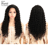 Remy Forte 28 Inch Lace Front Human Hair Wigs Deep Wave Human Hair Wigs 13X4 Brazilian Remy Hair Lace Wigs With Baby Hair Wig