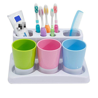 High Quality Bathroom Sets Toothbrush Holder Toothbrush Holder Nursing Bathroom Sets Wash Gargle Suit Storage Container