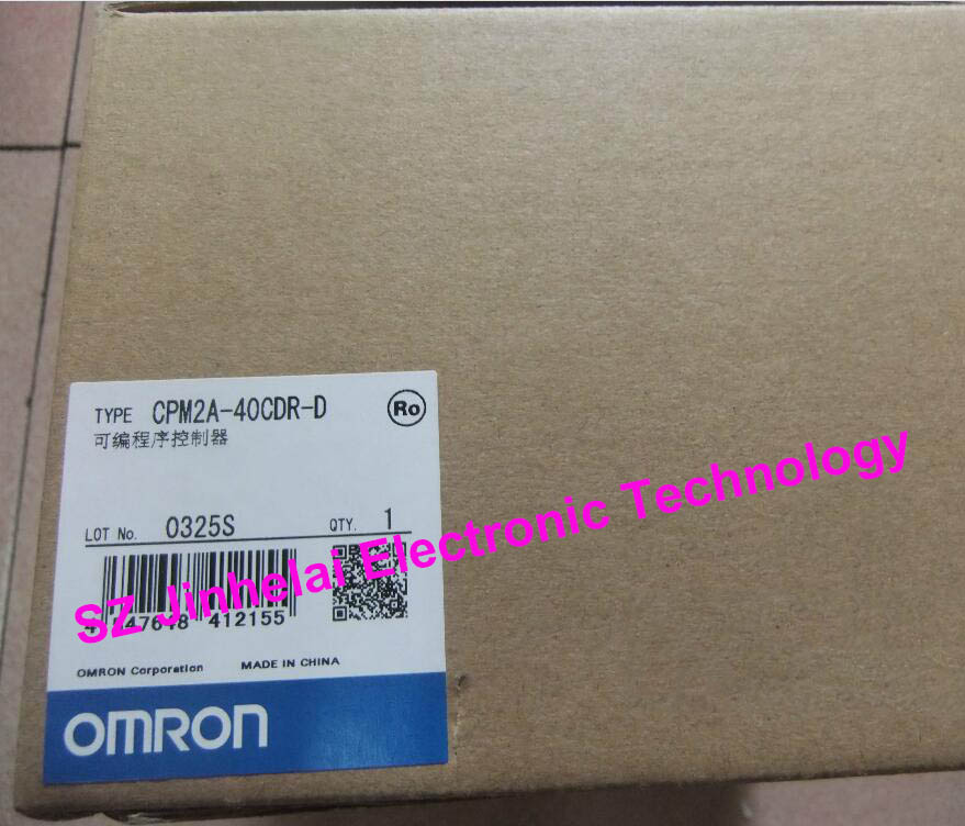 все цены на New and original CPM2A-40CDR-D OMRON Programmable controller онлайн