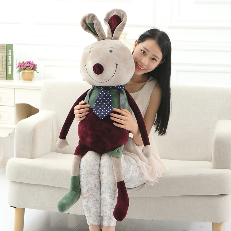 Hot Large Cartoon Animals Cool Family Mouse Stuffed Plush Baby Toys Soft Doll for kids Christmas Gift Elephant Rabbit Bear in Stuffed Plush Animals from Toys Hobbies