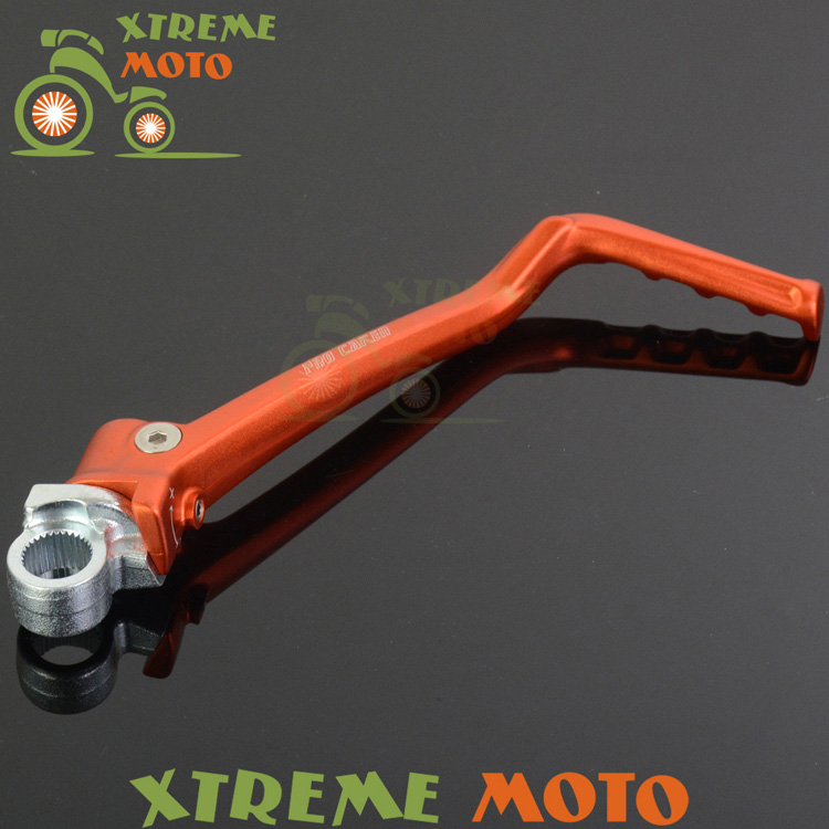 Forged Kick Start Starter Lever Pedal For KTM 125 EXC SX 150 SX XC 200 EXC XCW Husqvarna TC125 TE125 Motocross Enduro Dirt Bike cnc stunt clutch lever easy pull cable system for ktm exc excf xc xcf xcw xcfw mx egs sx sxf sxs smr 50 65 85 125 150 200 250