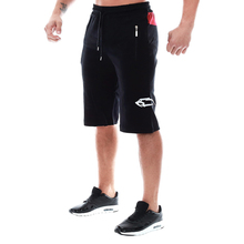 CLEVER-MENMODE 2018 Casual Bodybuilding Professional Fitness Men's Workout Shorts