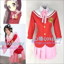 Trajes de Cosplay de Anime El Dios Del Mundo Sabe Solamente Elucia Kami nomi zo Shiru Sekai Cos Ropa Uniforme Escolar Japonés para niñas