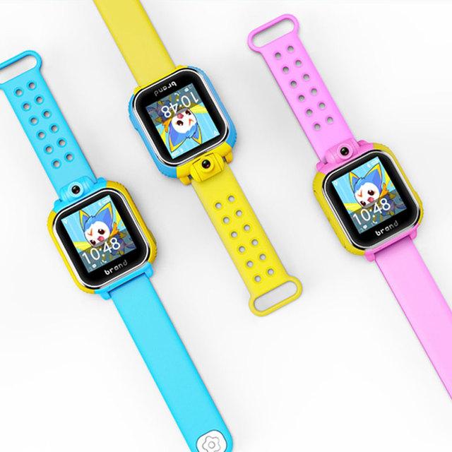 Crianças garoto relógio de pulso jm08 3g smart watch com câmera gsm gprs gps localizador rastreador anti-perdida smartwatch para guarda ios android