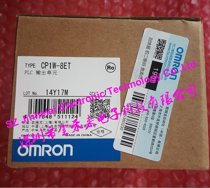 CP1W-8ET New and original  OMRON  PLC CONTROLLER   OUTPUT UNIT new and original cj1w da021 omron plc