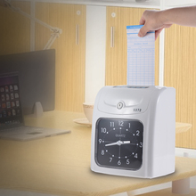 aibecy electronic employee clock recorder attendance card machine for office factory - Time Card Machine