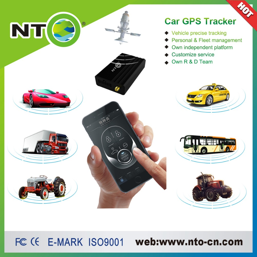 Wholesale 1pcs gps tracker ios android app vibration alarm fleet and personel management