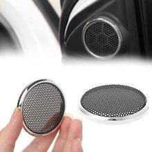 2 шт 50 мм защитный чехол для динамика из стальной сетки с круглым