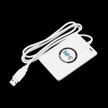 Полная Скорость USB ACR122U NFC Бесконтактные RFID Считыватель Смарт-Карт Писатель с 5 шт. M1 Карты Для 4 типов NFC (ISO/IEC18092) теги