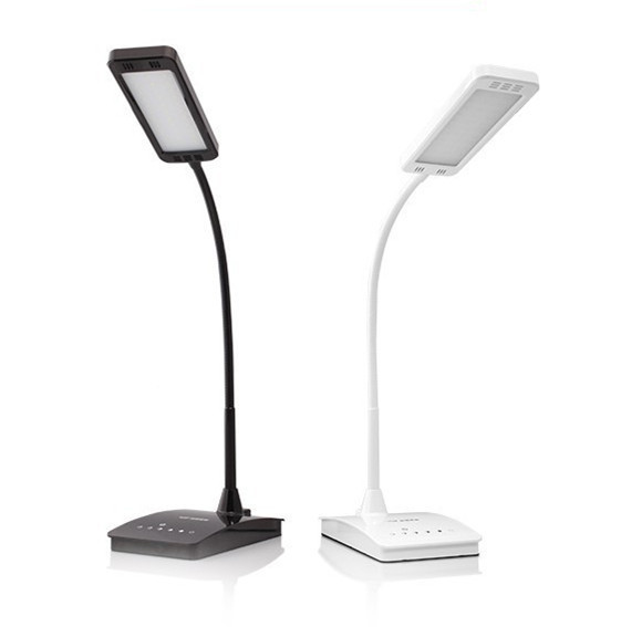 Dimmable Eye-Care LED Desk Lamp 6-Level Dimmer Touch Sensetive LED Desk Lamp With Flexible Neck