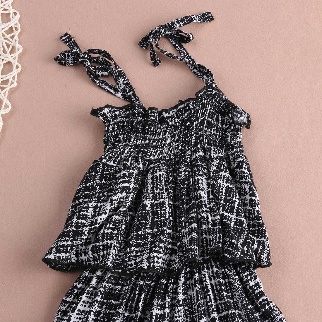 8adece467dad ... 2018 Hot Baby Girls Clothes Designer Kids Romper Fashion Child Backless  Overall Jumpsuit Playsuit Clothes 2 ...