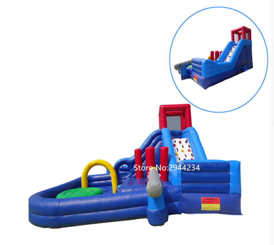 Good PVC material sale inflatable jumping bounce with pool combo 3 and 1 inflatable water slideGood PVC material sale inflatable jumping bounce with pool combo 3 and 1 inflatable water slide