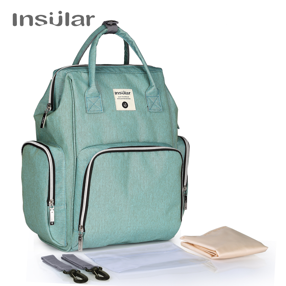 Insular Baby Diaper Backpack Maternity Mommy Changing Bag Baby Stroller Organizer Diaper Backpack