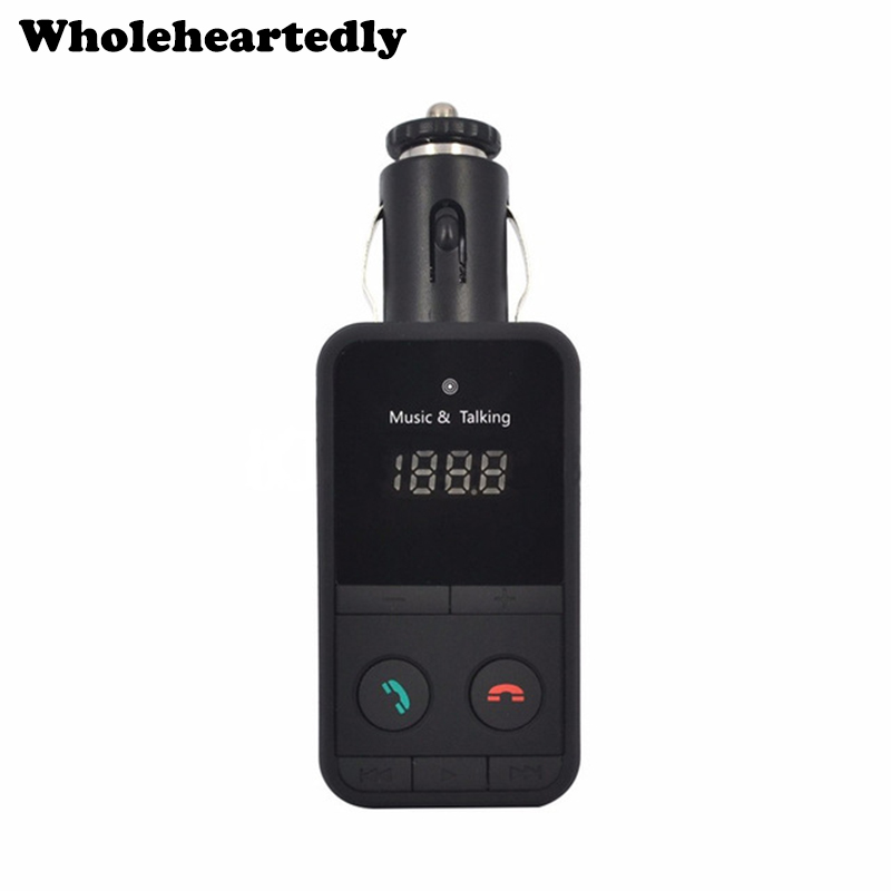 Mão Livre Sem Fio Kit MP3 Player Do Carro do Bluetooth FM Transmissor Modulador USB SD LCD Leitor de Música Carro transmissor Remoto Controll