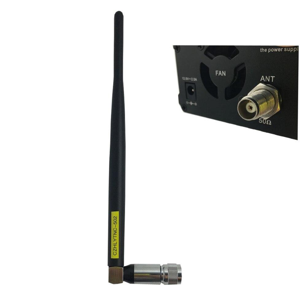 FM Transmitter broadcast short Antenna TNC for CZE 7C CZE 05B 0 5W 1W 7W TRANSMITTER
