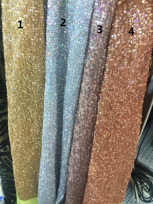 New Arrival African Sequins Fabric LJY 82751 For Nigerian Wedding Dress Hot Selling-in Lace from Home & Garden    1