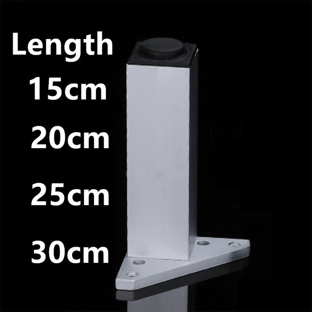 Height 15cm 20cm 25cm 30cm Metal Furniture Cabinet Legs Bed Tea Table Chair
