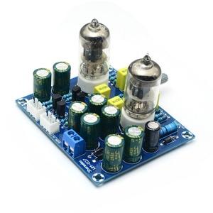 Image 3 - Cirmech tubo amplificador de vácuo hifi, placa preamplificadora de válvula eletrônica ac12v kit diy e produto acabado