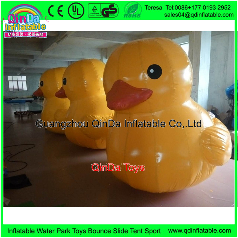 Promotion Rubber Duck Inflatable Duck Lovely Inflatable Toys Inflatable Animals Duck For Advertising